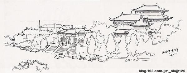 大连仙浴湾(速写) - 相册 - 江济民 - 艺术家园-盘古