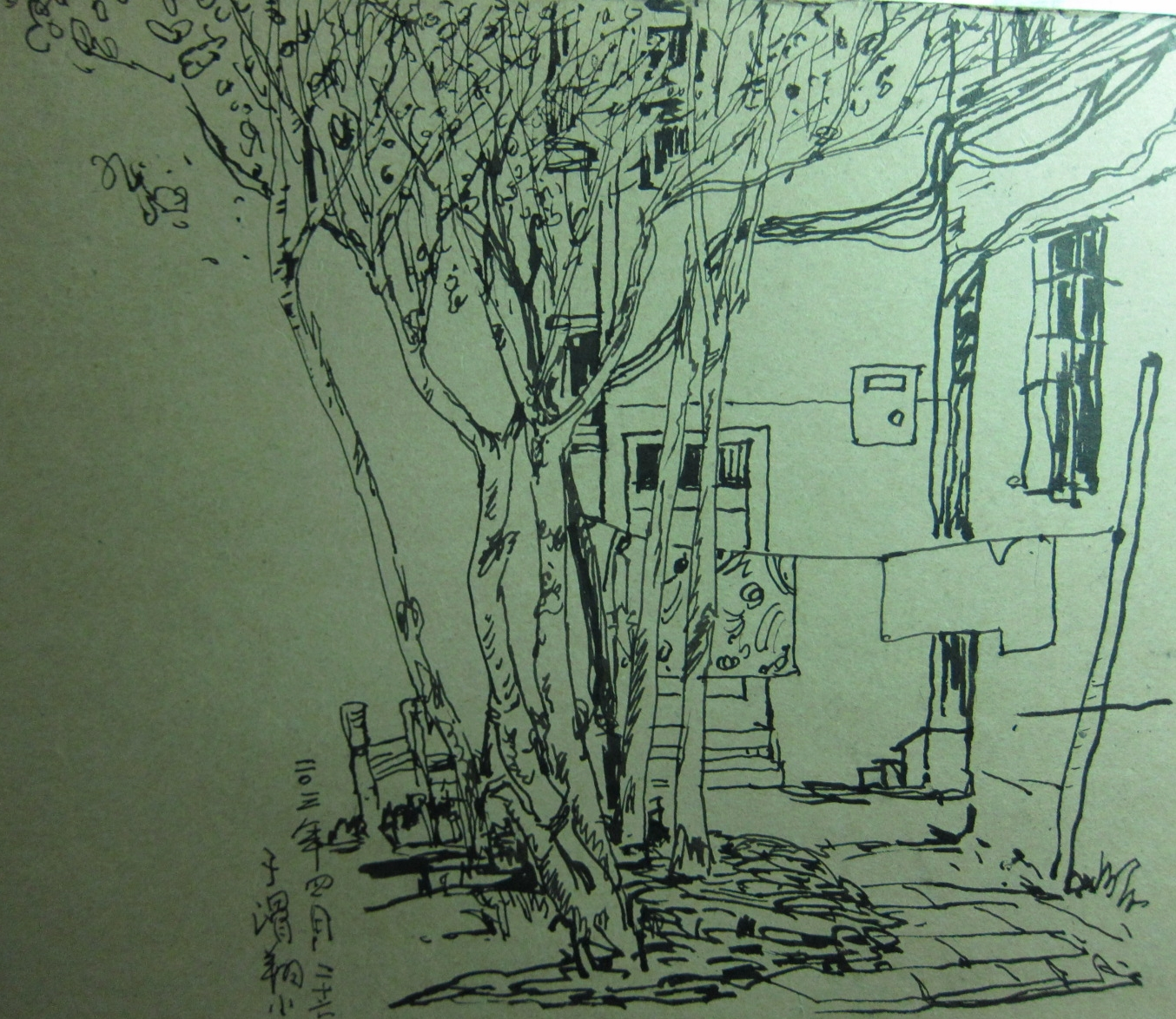 城市风景速写 - 相册 - 吴宝至 - 艺术家园-盘古艺术网