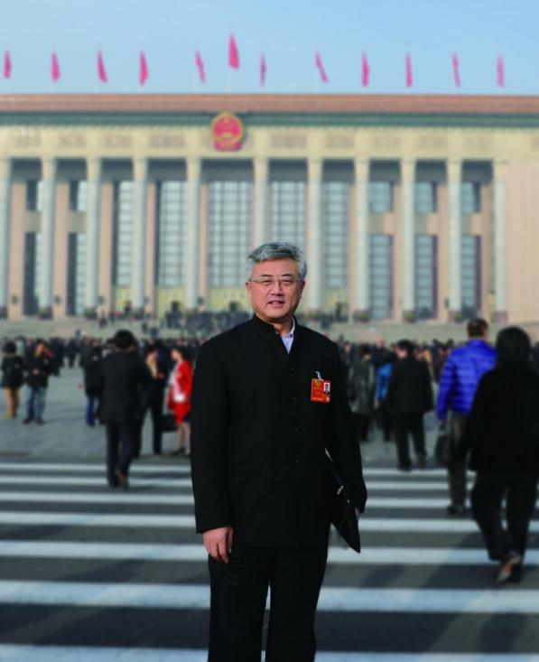 构建中国书法丝绸之路   开拓大美汉字翰墨之旅--专访赵长青
