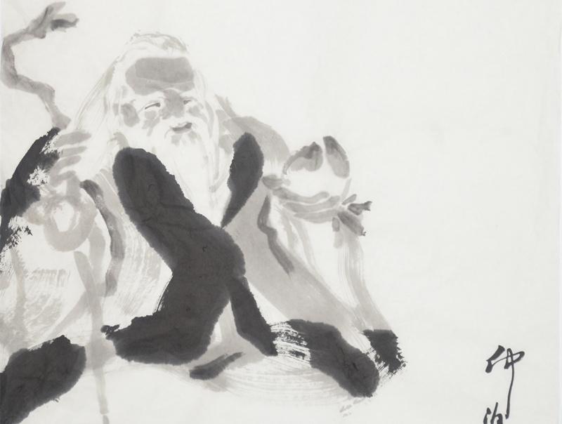 仲泊游随笔画典(3)--古代神仙之三