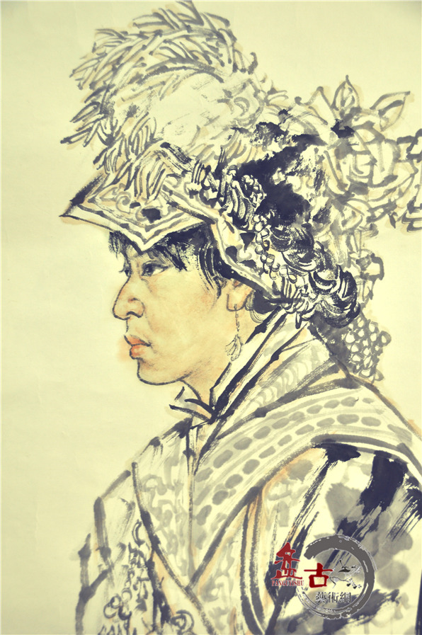 范扬国画作品欣赏(十)--写生系列二