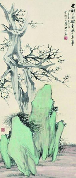 胡公寿・老树又着花