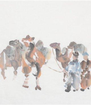 仲泊游随笔所见:草原速记系列(五)耐劳的骆驼