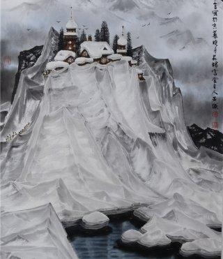 吴国言冰雪画(一)