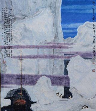 吴国言冰雪画
